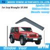 Auto Parts Wholesale PC Window Visor for Jeep Wrangler 3D 2010