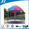 16FT Round Trampoline, Trampoline with Top Cover, Big Trampoline