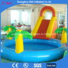 Inflatable Pool and Slide Combo for Kids Water Playground