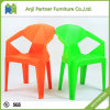 Stackable High Quality Orange and Green Plastic Dining Room Chair (Jerry)
