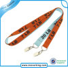 Double Clip Polyester Lanyard Promotion Gift