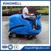 Battery Powered Electric Ride on Floor Cleaning Scrubber Machine (KW-X9)
