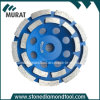 Double Ring Segment Diamond Cup Wheel/Diamond Cup Disc