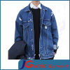 Simple Retro Biker Denim Jacket for Men (JC7046)
