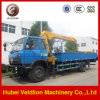 Hot LHD Pickup Truck Crane