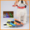 Adjustable Glow Luminous Personalized Pet Dog TPU Safety Collar for Pet Puppy
