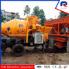 Low Cost Trailer Concrete Pump with Mixer
