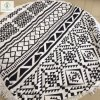 Wholesale Qualified Microfiber Printed Round Beach Towel with Tassel