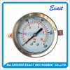 Stainless Steel Pressure Gauge-Liquid Hydraulic Manometer-Clamp Type Pressure Gauge
