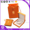 Orange Color Paper Jewelry Box Bag Packaging Bracelet