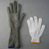 Metal Mesh Cut Resistant Level 5 Long Sleeve Glove-2359
