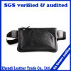 Genuine Leather Waterproof Running Waist Bag for Cellphone