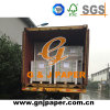 700*1000mm One Side Coated Duplex Board Grey Back for Sale