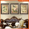 Beautiful Flower Paintings Wall Art on Canvas Used in Hotel Decoration