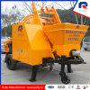 Portable Mini Trailer Concrete Mixer Pump Jbt40-P