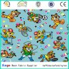 Panama PU Polyurethane Coated Oko-Tex 500d Cartoon Animals Print Fabric for Tent Baby Stroller