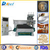 Three-Processing CNC Router CNC Cutting Engraving Machine 1325 for Furniture