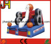 Basketball Court Inflatable Basketball Hoop for Shooting Games