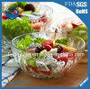 Leadless Transparent Salad Glass Bowl Thickening