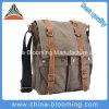 Retro Men′s Small Messenger Canvas Shoulder Leisure Bag