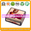Square Metal Food Container for Chocolate Biscuit, Food Tin Can