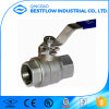 High Quality ANSI Stainless Steel Bsp Thread Ball Valve