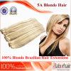 Blonde Brazilian Remy Human Hair Weft (26inch-Straight)