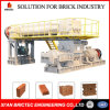 Advanced Burned Brick Machine in Clay Brick Factory