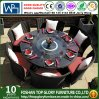 New Design Stainless Steel Dining Table Set for Outdoor Patio Terrace (TG-1630)