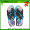 New Fashion Product Flowesr Print PE Slipper for Women