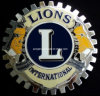 Grille International Lions Car Emblem Badge