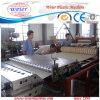Line of Plastic Roof Tiles PVC Production