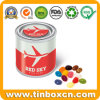 Food Grade Metal Fruit Candy Tin Box with Airtight Lid