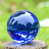 Clear Crystal Glass Ball of Photograph Using