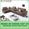 Nordic Classic Linen Fabric L Shape Sectional Sofa