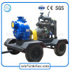 Trailer Mounted Diesel Engine Self Priming Trash Pump