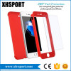 iPhone 7 Thin Hard Mobile/Cell Phone Case with Tempered Glass