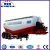 3axle 45m3 Bulk Cargo/Cement/Utility Powder Tanker/Tank Truck Tractor Semi Trailer