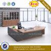 High Quality Wooden Melamine L-Shaped Office Desk (HX-8NE019)