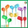 Earbuds Colorful Cheap MP3 Stereo Earphone Wholesale