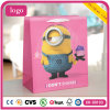 Minions Pink Children Art Coated Gift Paper Bags