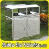 Outdoor Large Storage Stainless Steel Garbage Waste Bin