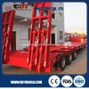 Standard Low Bed Semi Trailer with 3 Axles