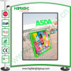 Shopping Cart Display Advertising Board with Two Dividers