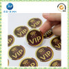 OEM Round Epoxy Resin Logo Sticker (JP-s047)