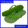 New Colorful Stripe Print PE Men Slippers