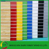 Melamine MDF Slotted Board/Slot MDF Board/Slot Board with Aluminum