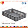 Ventilated Plastic Basket Tray Euro Containers with Hand Holes (Zhtb5)