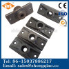 15.24mm Rectangle Siamesed Mono-Strand Anchorage for Post-Tensioning Prestressed Concrete