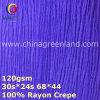 100%Rayon Crepe Woven Dyeing Fabric for Blouse (GLLML374)